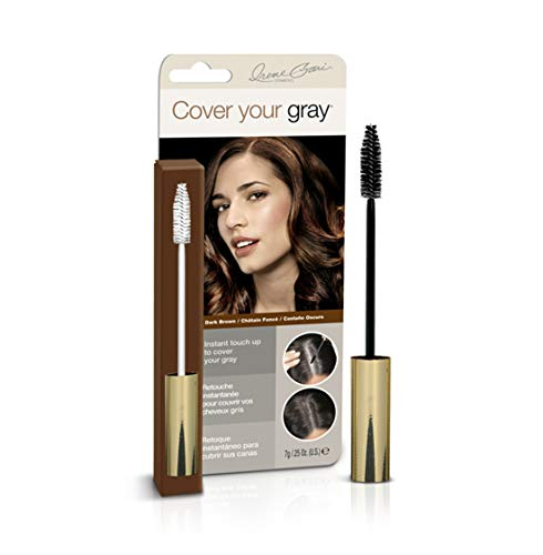 Cover Your Gray Brush-in Wand, Dark Brown