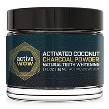 Active Wow Teeth Whitening Charcoal Powder-Natural