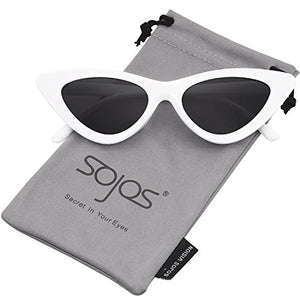SojoS Cat Eye Vintage Sunglasses