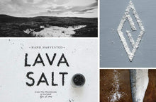 Saltverk Gift Box w/Arctic Thyme salt, Birch Smoked salt, Lava salt, and Pure salt
