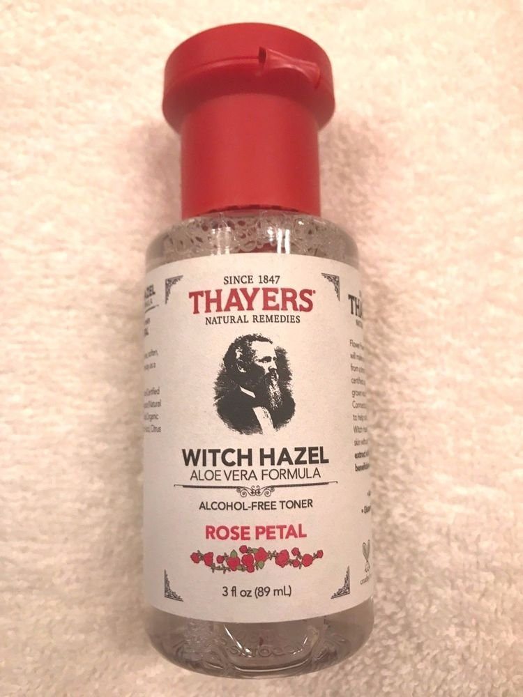 Travel Size Thayers Rose Petal Witch Hazel with Aloe Vera