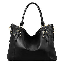 Kattee Women's Vintage Leather Tote Shoulder Bag
