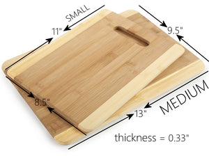 "Mothers Gift Recipe for a Special Mom ( Small 11"" x 8.5"") Bamboo Serving/Cutting Board"