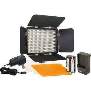 VidPro LED-330 On-Camera LED Video Light Kit