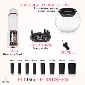Pro Makeup Brush Cleaner & Dryer Kit