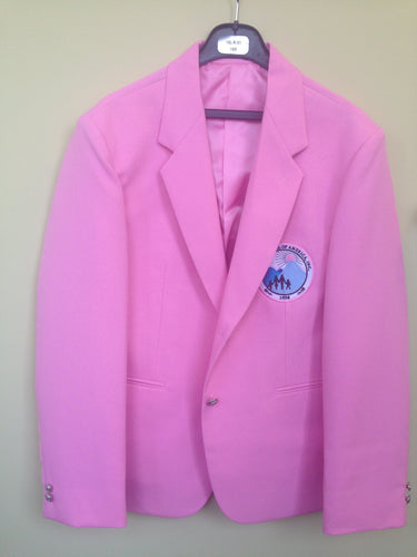 Custom Pink Lined Ladies Blazer - Call for Pricing