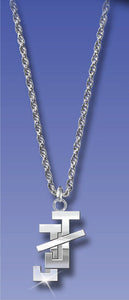 "J&J Bar - Sterling Silver 18"" Necklace"
