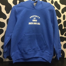 Load image into Gallery viewer, Youth Blue Sweatshirt