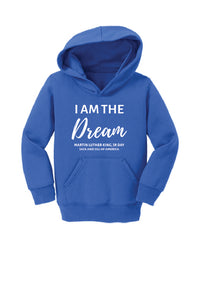 I Am The Dream Hoodie- TODDLER- Royal Blue