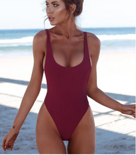 One-Piece Backless Swimsuit