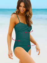 Retro One-Piece Swimsuit  **PLUS SIZE to 4XL**
