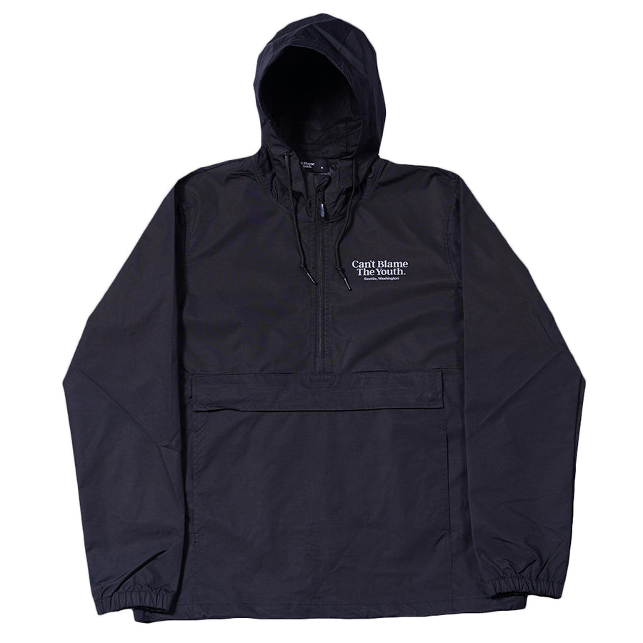 CBTY-LOCATION ANORAK-BLACK