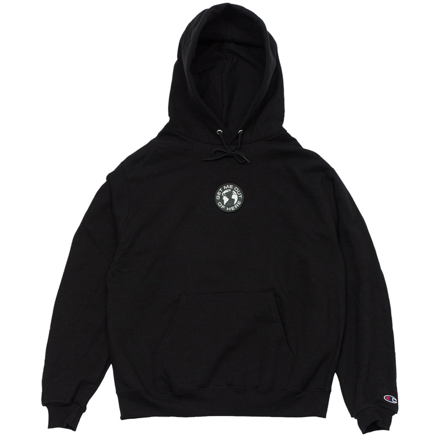 CBTY GET ME OUT OF HERE CHAMPION REVERSE WEAVE HOODIE