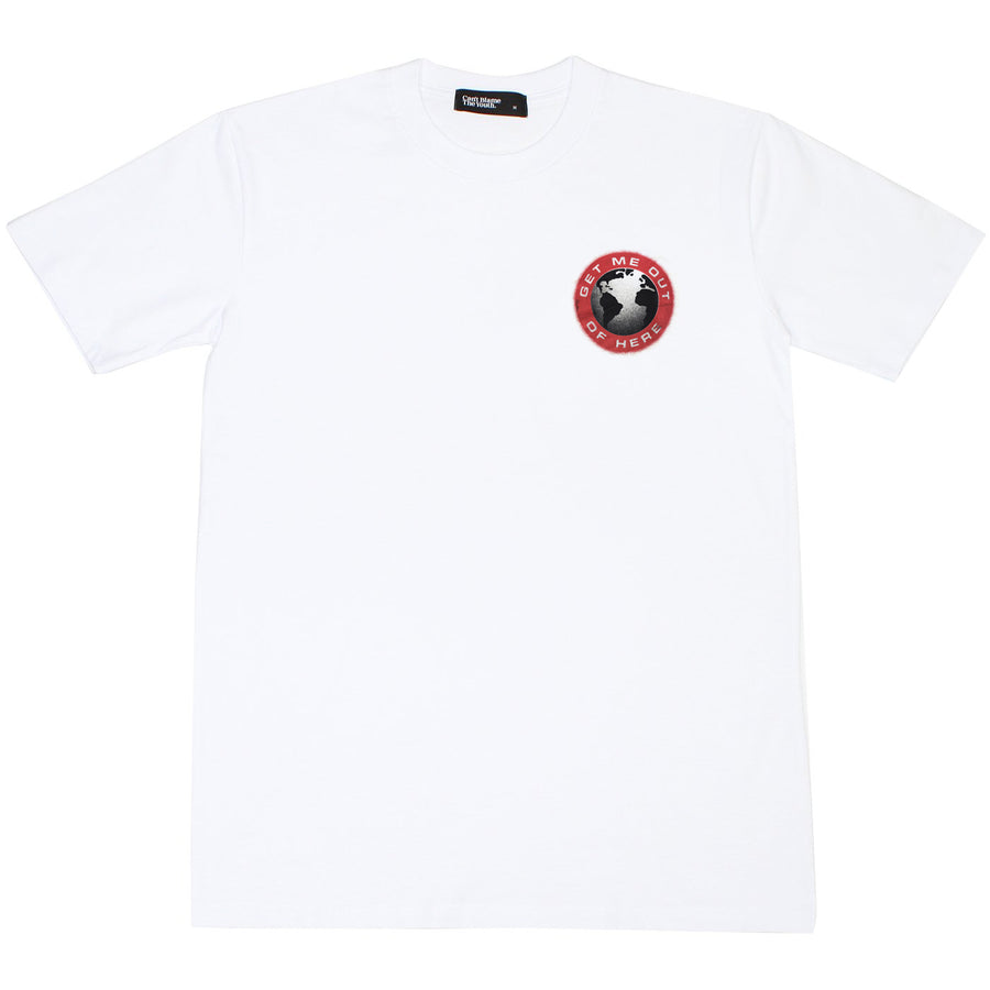 CBTY-GET ME OUT-TSHIRT-WHITE