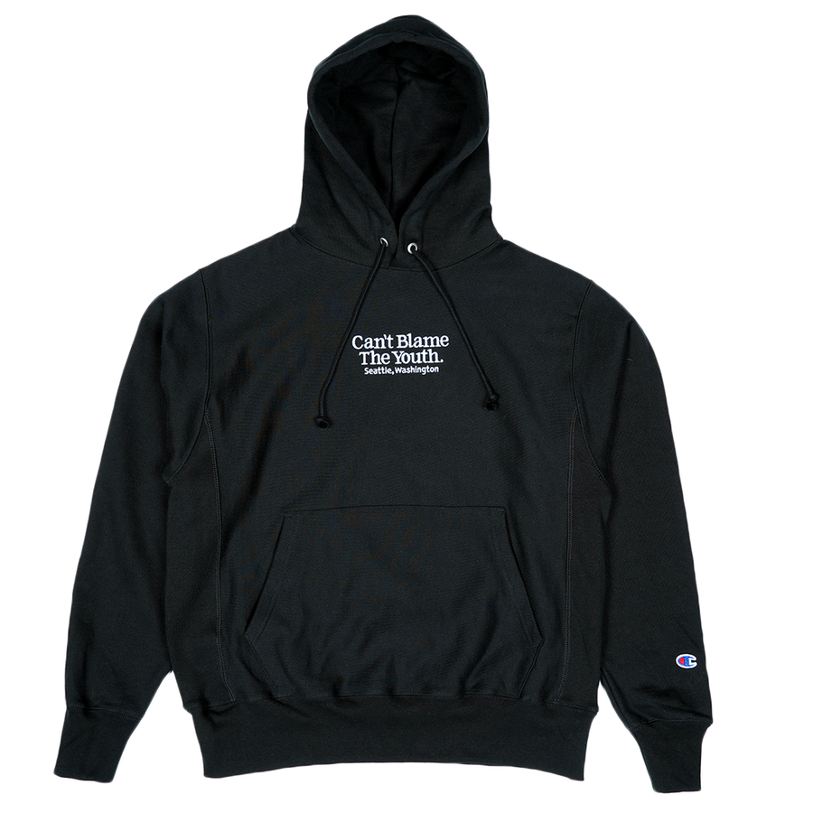 CBTY-LOCATION CHAMPION PULLOVER-BLACK