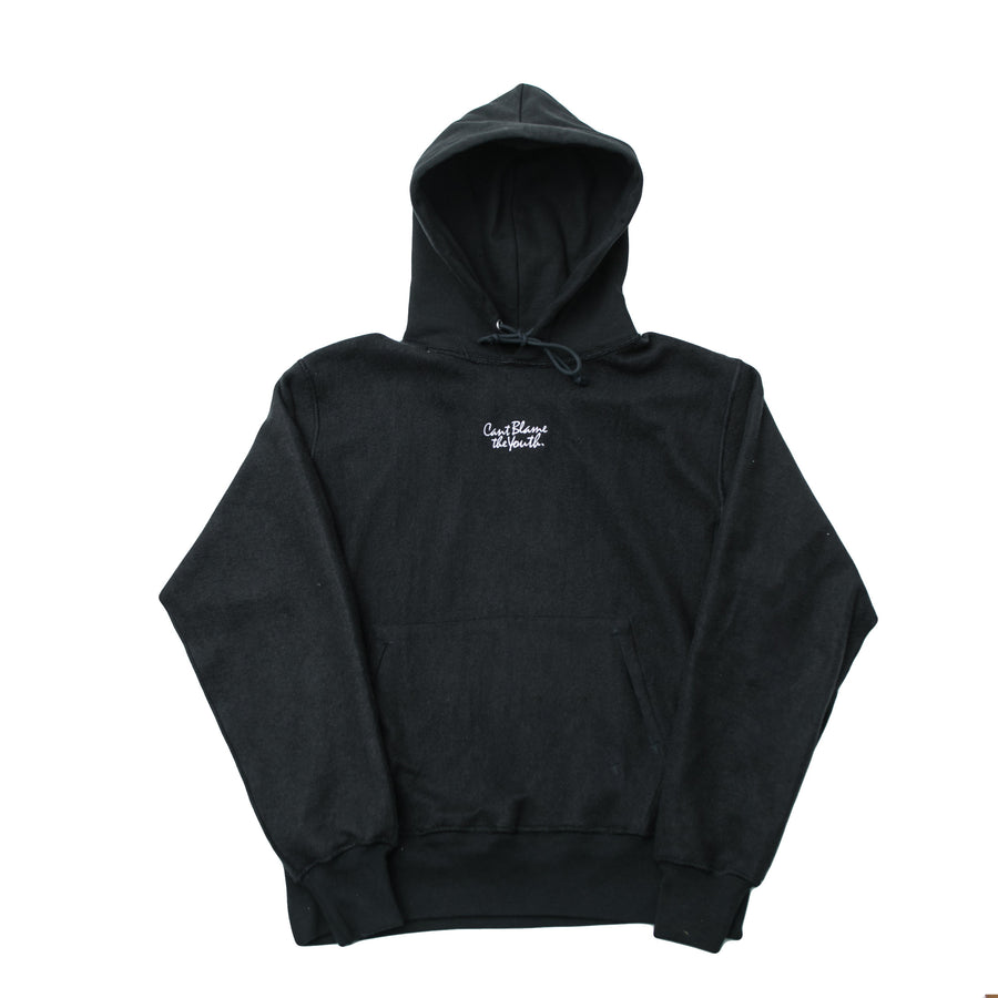 CBTY-INVERTED CHAMPION PULLOVER 2-BLACK