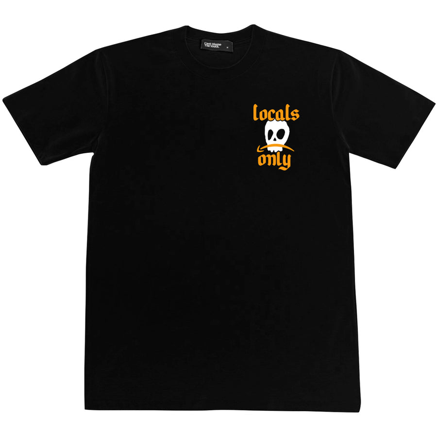 CBTY LOCALS ONLY TEE (BLACK)