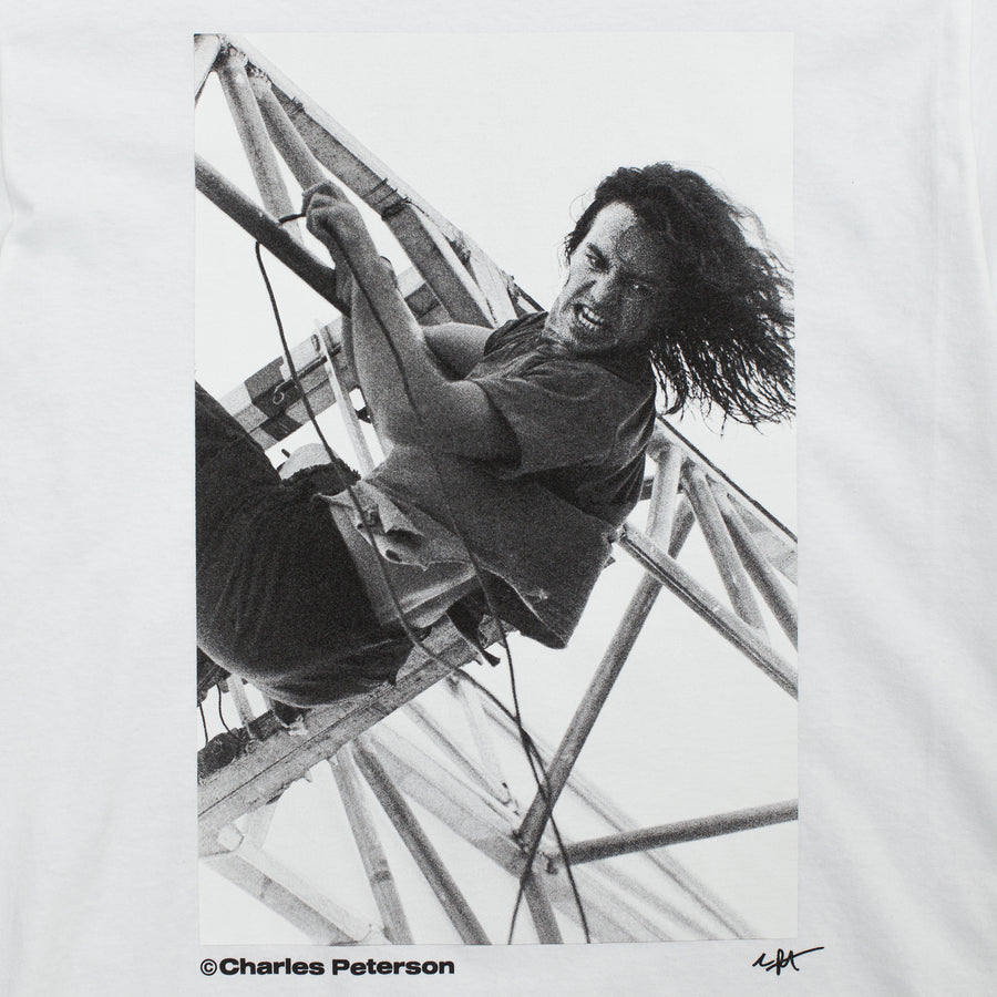 CBTY X PLEASURES X PETERSON-IN THE PARK-TSHIRT-WHITE
