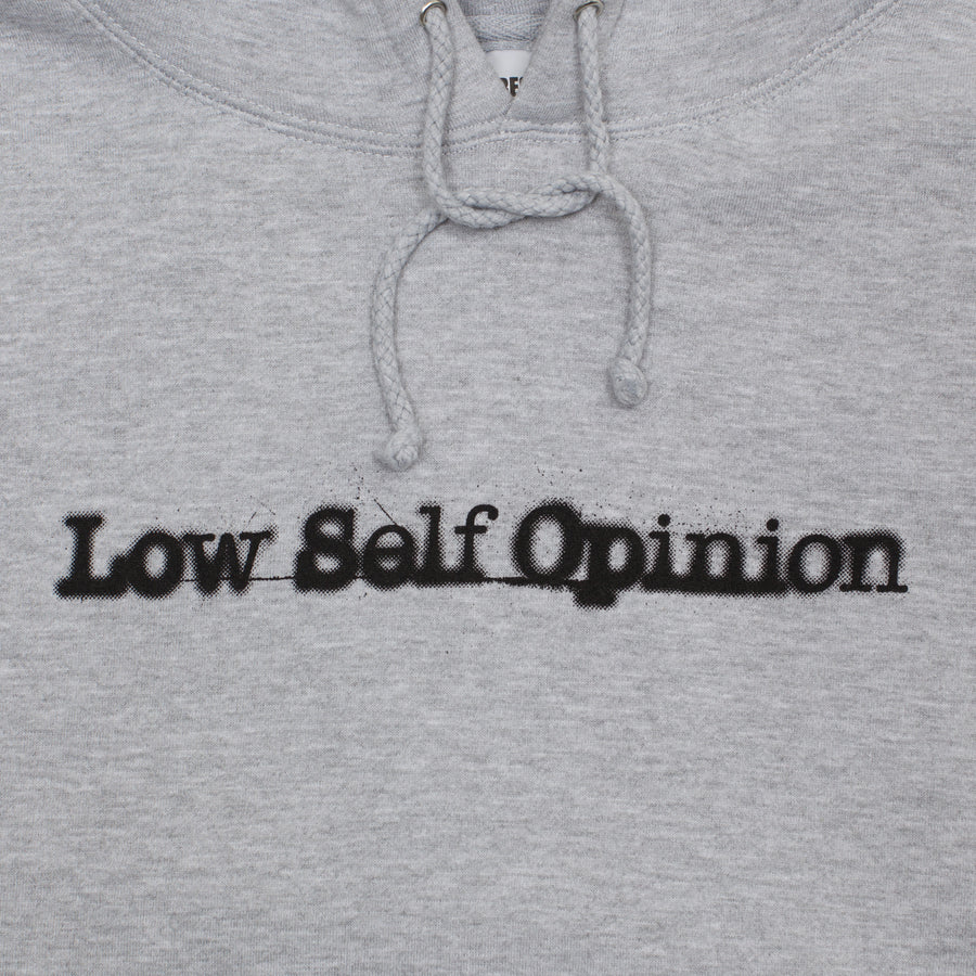 CBTY X PLEASURES X PETERSON-LOW SELF OPINION-PULLOVER-HEATHER