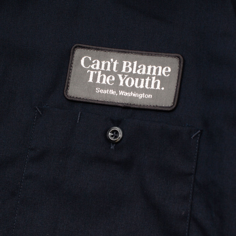 CBTY-DICKIES S/SWORK SHIRT-F/W19-Navy