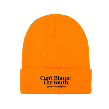 CBTY LOCATION BEANIE (NEON ORANGE)