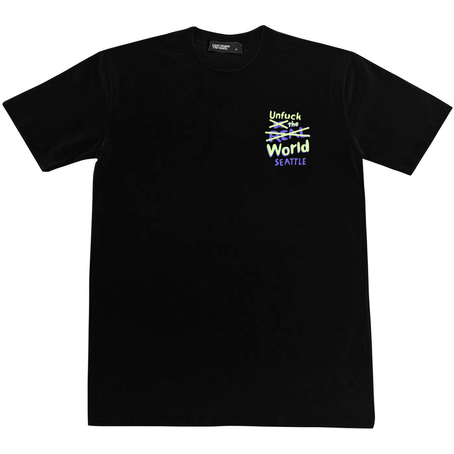 CBTY REAL WORLD TEE (BLACK)