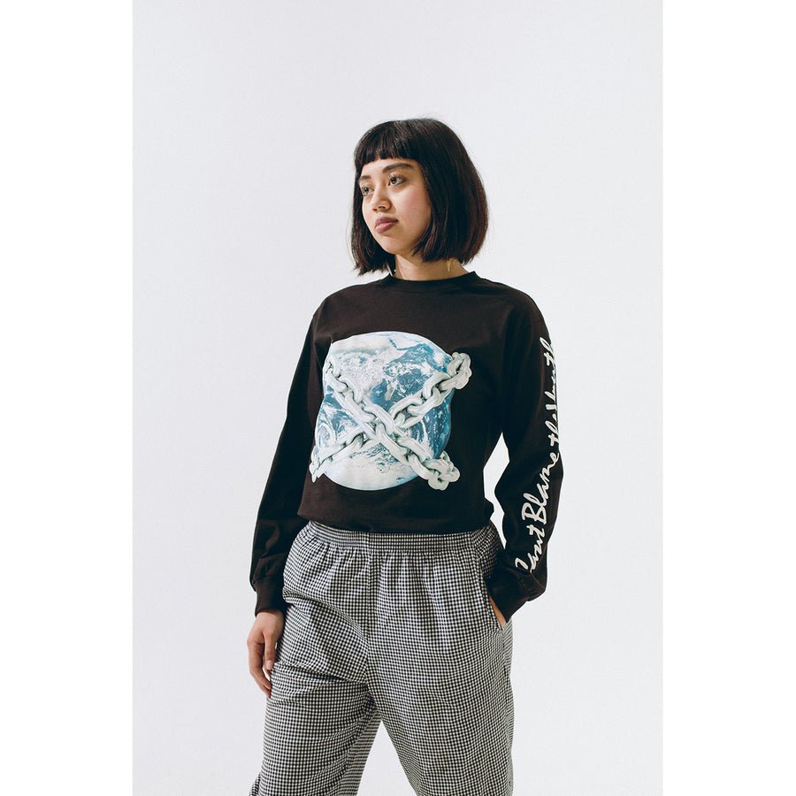 CBTY-EARTH CHAINS-L/S-BLACK