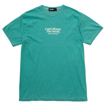 CBTY-LOCATION T-SHIRT F/W19-TEAL