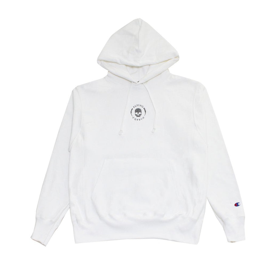 FC-SHOCKTROOPER CHAMPION-WHITE-PULLOVERHOODY