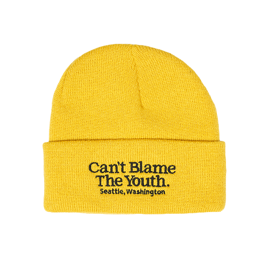 CBTY-LOCATION BEANIE-YELLOW