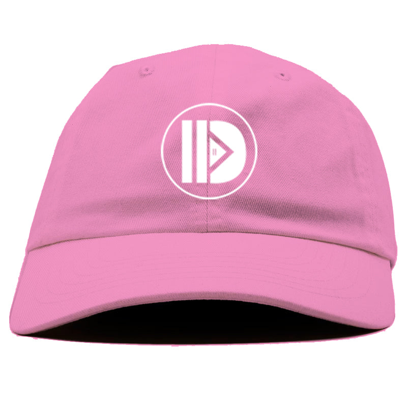 HHD Logo Dad Hat [Pink]