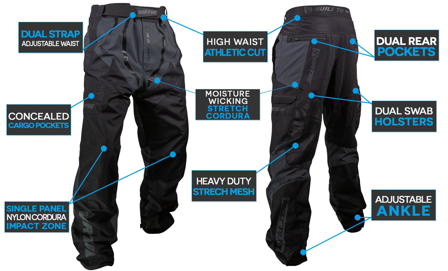 Brakout Pants - Feature Call-Out