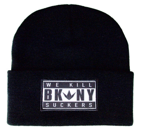 Bunkerkings Beanie - Folded Black WKS