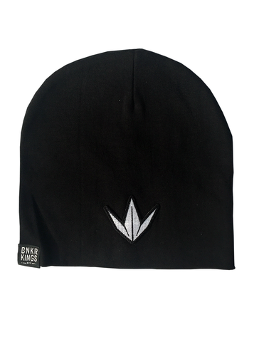 Bunkerkings Beanie - Black Crown Patch