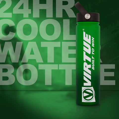 Virtue Stainless Steel 24Hr Cool Water Bottle - 24oz - Lime