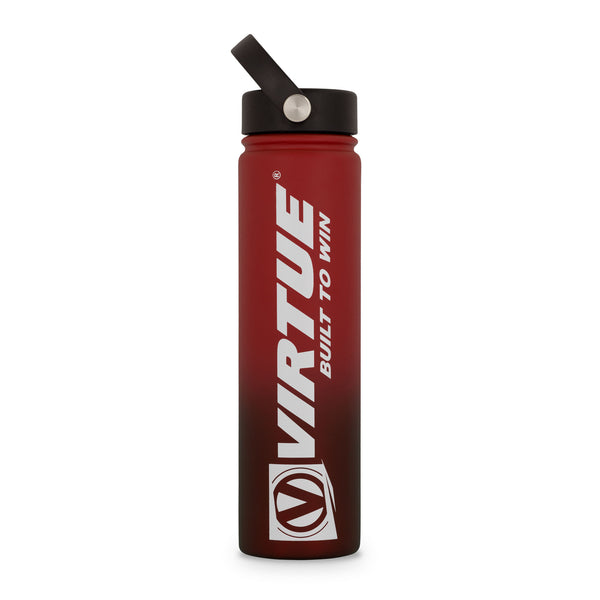 Virtue Stainless Steel 24Hr Cool Water Bottle - 24oz - Red
