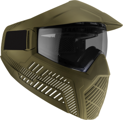 Base Anti-Fog Field Paintball Goggle - FDE Smoke