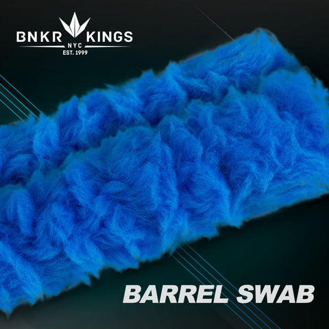 Bunkerkings Barrel Swab - Cyan