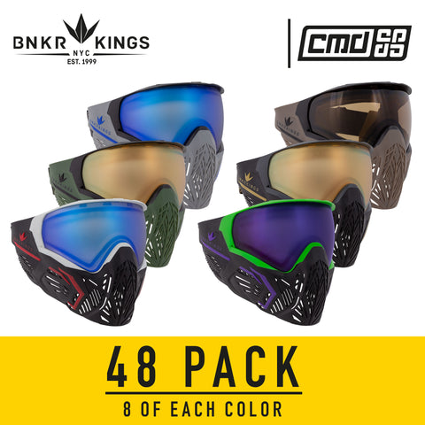 Bunkerkings CMD Goggle - 48 Pack