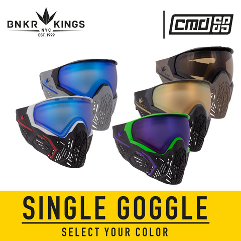 Bunkerkings CMD Goggle + Pack Combo