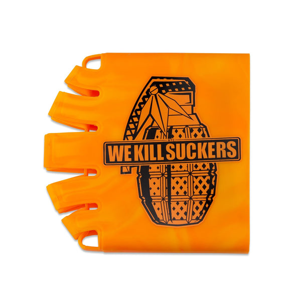 Bunkerkings - Knuckle Butt Tank Cover - WKS Grenade - Orange