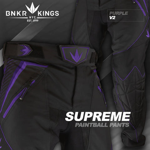 Bunkerkings V2 Supreme Pants - Purple