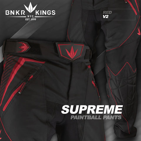 Bunkerkings V2 Supreme Pants - Red
