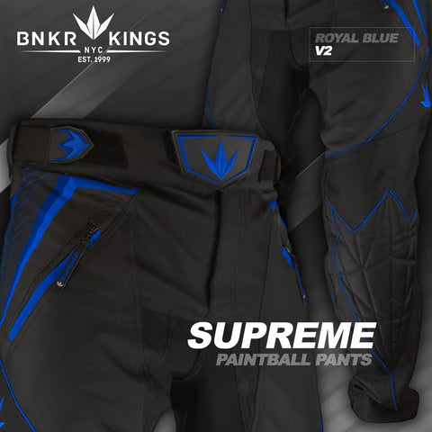 Bunkerkings V2 Supreme Pants - Royal Blue