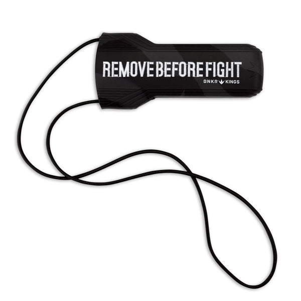 Bunkerkings Barrel Cover - Remove Before Fight - Black