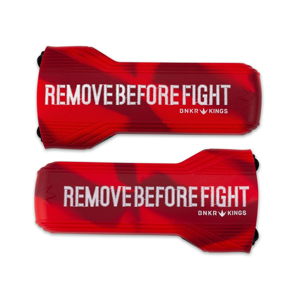 Bunkerkings Barrel Cover - Remove Before Fight - Red