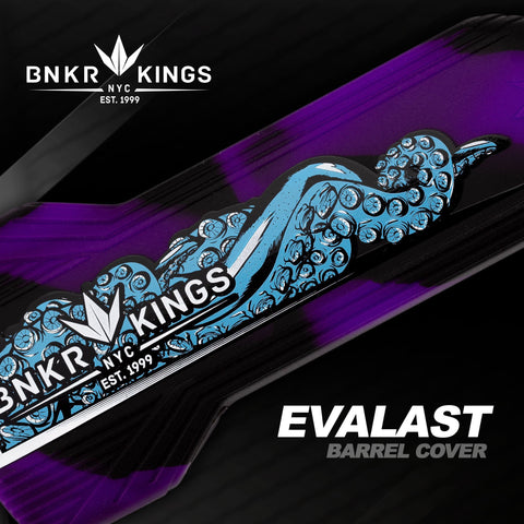 Bunkerkings Barrel Cover - Tentacle - Purple