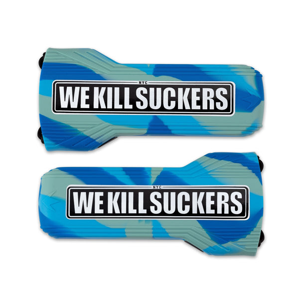 Bunkerkings Barrel Cover - WKS - Cyan