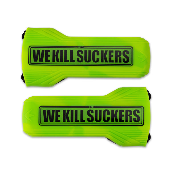 Bunker Kings Barrel Cover - WKS - Lime