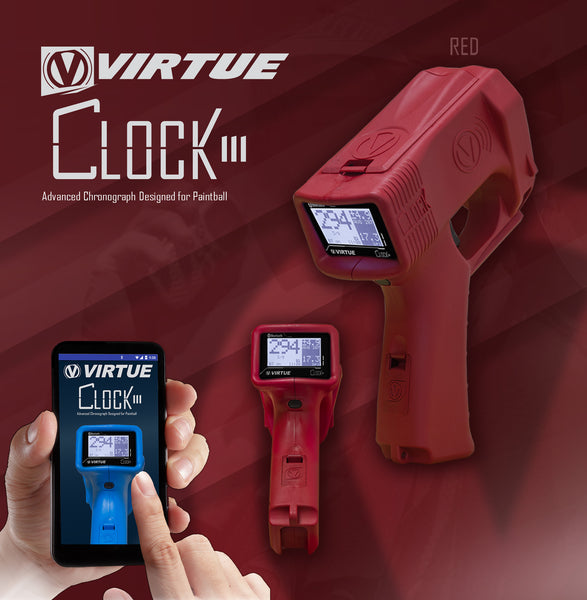 Virtue Clock III Chronograph - Red